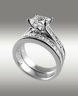3 72ct princess cut engagement ring w