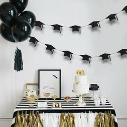 Bachelor Cap Garland Bunting Banner Hanging Graduation Party