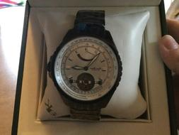 Adee Kaye Beverly HIlls Power Reserve Mens Watch 35v Jewels