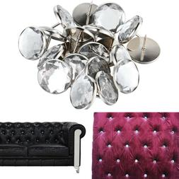 Home Crafts Arts  Sofa Nails Crystal Buckle Background Decor