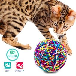 Categories Knitty Kitty Large Multi-Color - Yarn Ball Cat To