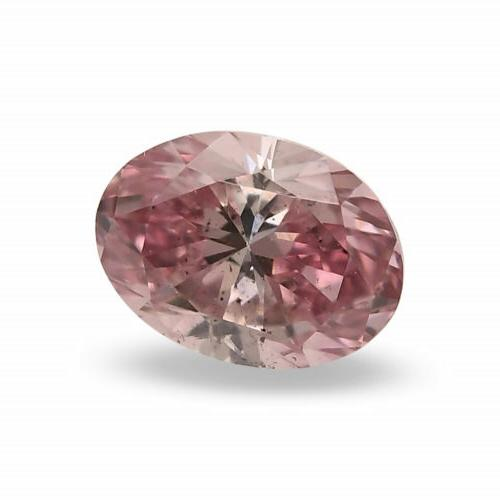 0.17Cts Argyle Pink Loose Color Oval