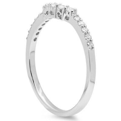 0.30 Gold Diamond Anniversary Stackable