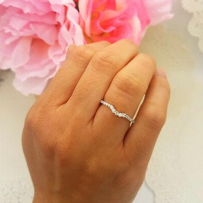 0.30 CT Gold Anniversary Wedding Stackable