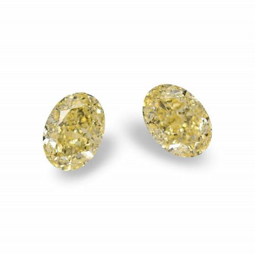 1 41cts fancy yellow loose diamond natural