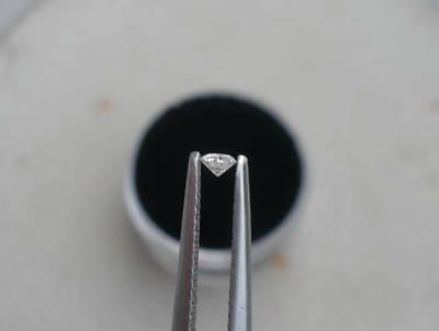 2mm Natural Diamond Loose Faceted Clarity