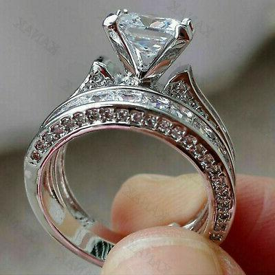 4.23ct Engagement Ring Solid White