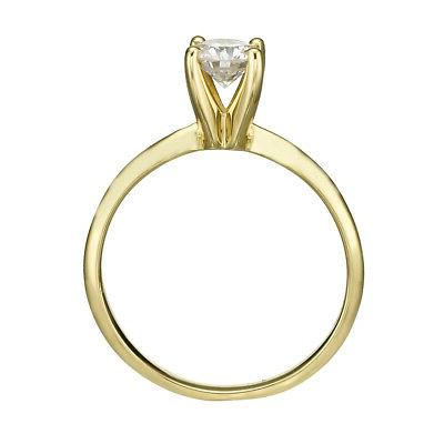 DIAMOND SOLITAIRE ENGAGEMENT 1.5 D ROUND CERTIFIED