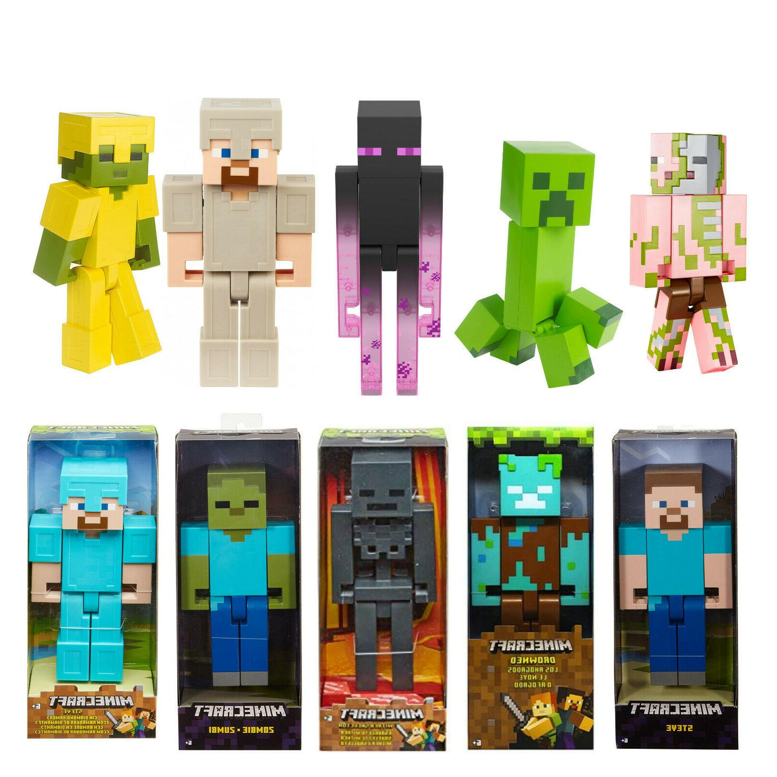 minecraft large scale action figures your choice
