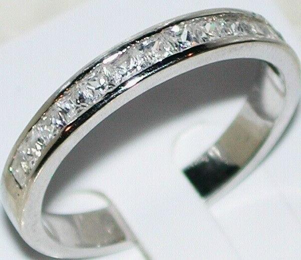 Princess cut Engagement 14k