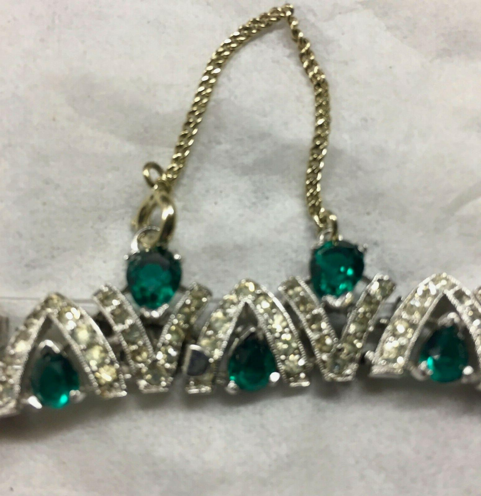 & Emerald Necklace - FREE SHIPPING