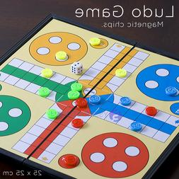 25 X 25 Cm Magnetic Ludo Traditional Board Brains Game With