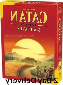 Settlers of Catan Board Game 5th Edition 5-6 Player  Extensi