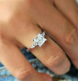 Women's Engagement Wedding Ring 1.83 Ct Diamonds Bridal Ring